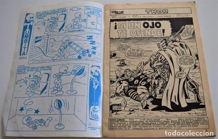 Cómics: THOR - VOL. 2 Nº 48 - MUNDI COMICS - Foto 3 - 249511105