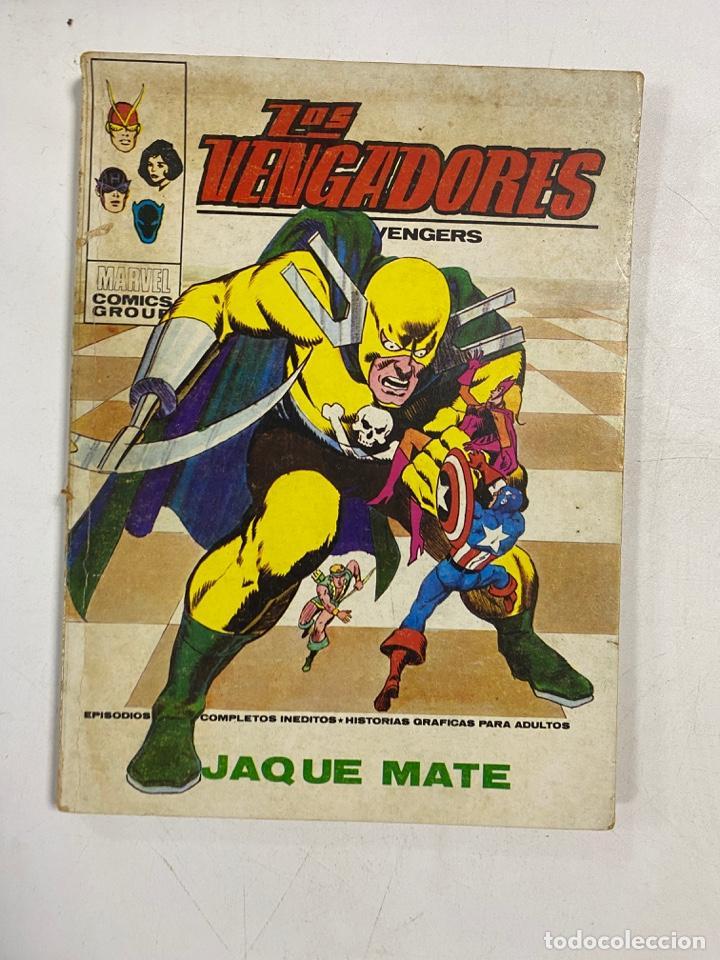 LOS VENGADORES. Nº 50 - JAQUE MATE. MARVEL COMICS GROUP. EDICIONES VERTICE. (Tebeos y Comics - Vértice - Vengadores)
