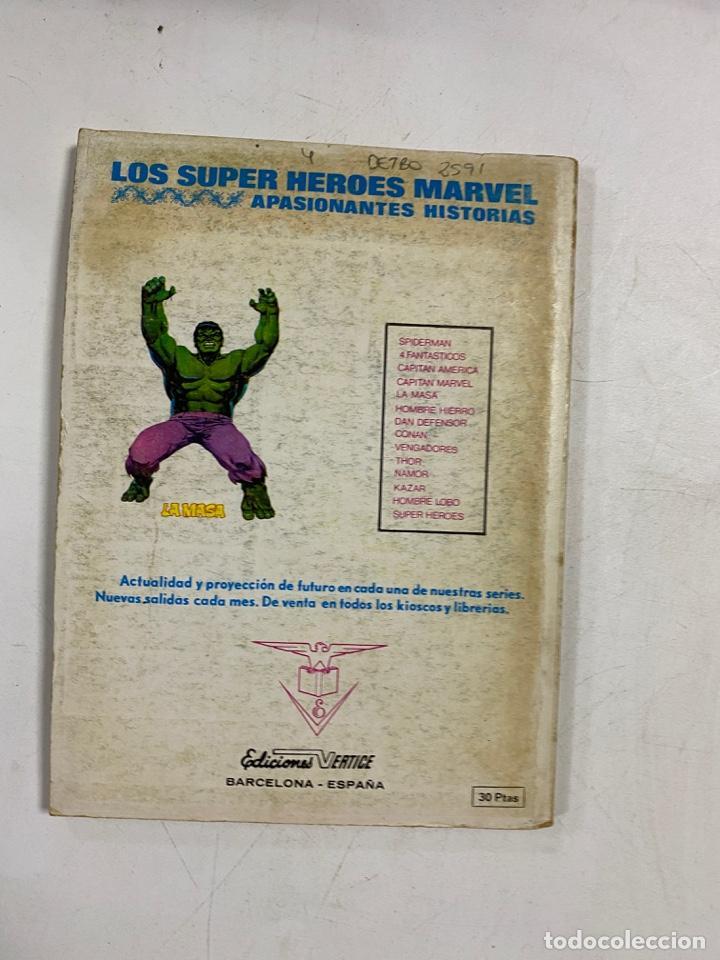 Cómics: LOS VENGADORES. Nº 50 - JAQUE MATE. MARVEL COMICS GROUP. EDICIONES VERTICE. - Foto 4 - 250132915