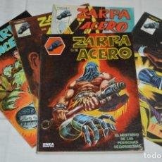 Cómics: ZARPA DE ACERO - TOMO RETAPADO 1, 2 , 3 , 4 Y 5 / MÁS NÚM. 02, 03, 05 Y 6 VERTICE - MUNDI COMICS. Lote 250240395