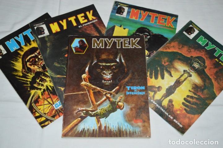 MYTEK - NÚM. 01, 02, 04 Y 5 / MÁS TOMO RETAPADO 1, 2 , 3, 4 Y 5 - VERTICE - MUNDI COMICS ¡MIRA! (Tebeos y Comics - Vértice - Surco / Mundi-Comic)
