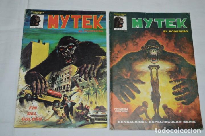 Cómics: MYTEK - Núm. 01, 02, 04 y 5 / Más tomo retapado 1, 2 , 3, 4 y 5 - VERTICE - MUNDI COMICS ¡Mira! - Foto 2 - 250242415