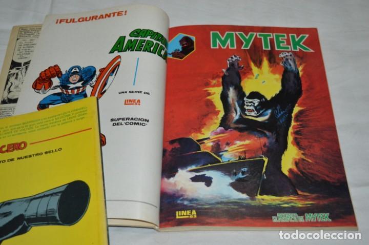 Cómics: MYTEK - Núm. 01, 02, 04 y 5 / Más tomo retapado 1, 2 , 3, 4 y 5 - VERTICE - MUNDI COMICS ¡Mira! - Foto 9 - 250242415