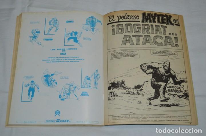 Cómics: MYTEK - Núm. 01, 02, 04 y 5 / Más tomo retapado 1, 2 , 3, 4 y 5 - VERTICE - MUNDI COMICS ¡Mira! - Foto 12 - 250242415