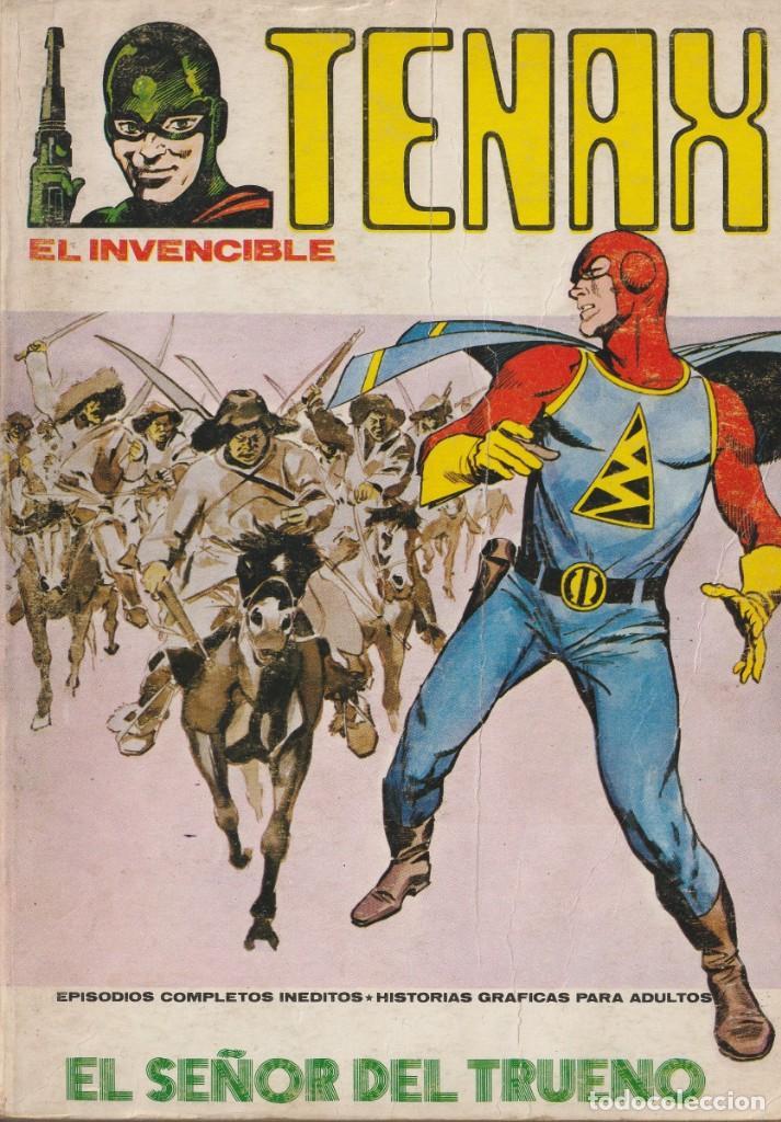 TENAX EL INVENCIBLE, EDITORIAL VERTICE, VOL.1 - Nº.4, EL SEÑOR DEL TRUENO (Tebeos y Comics - Vértice - Terror)