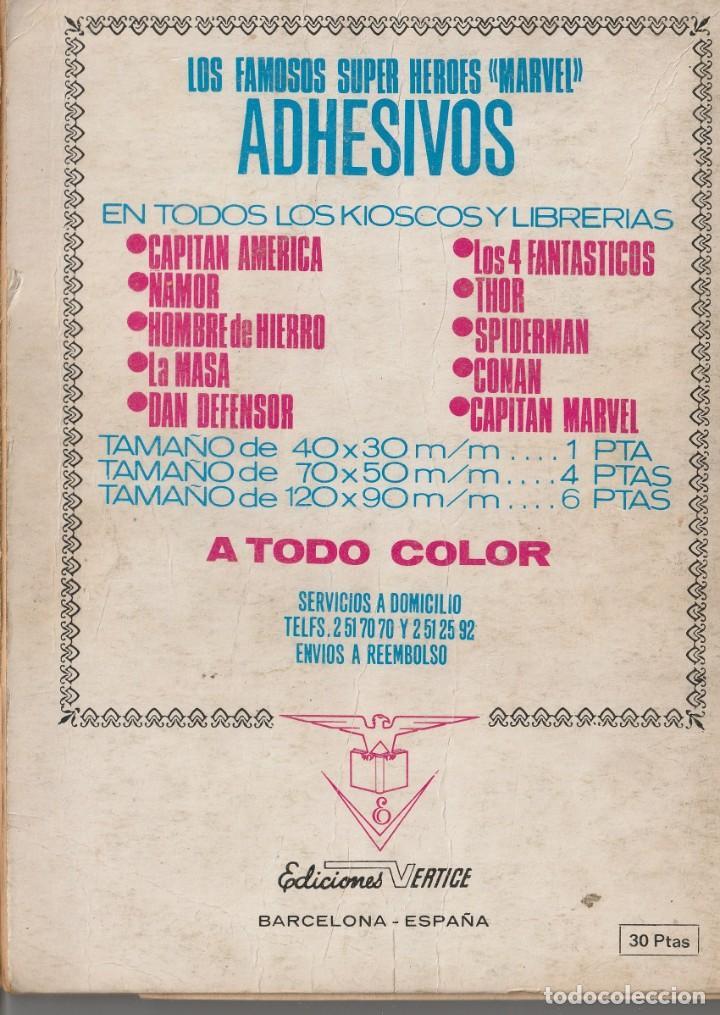 Cómics: TENAX EL INVENCIBLE, EDITORIAL VERTICE, VOL.1 - Nº.4, EL SEÑOR DEL TRUENO - Foto 2 - 250243935