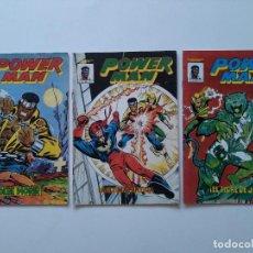 Cómics: LOTE 3 COMICS - POWER MAN - Nº 1, 2 Y 3 - MUNDI COMICS - EDICIONES VERTICE - AÑOS 1981 ...L3709. Lote 250304765
