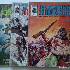 Cómics: LOTE 3 COMICS - EL PLANETA DE LOS MONOS - VOL 2 Nº 20 Y 26 - Nº6 - MUNDI COMICS - AÑOS 70 ...L3710. Lote 250305870