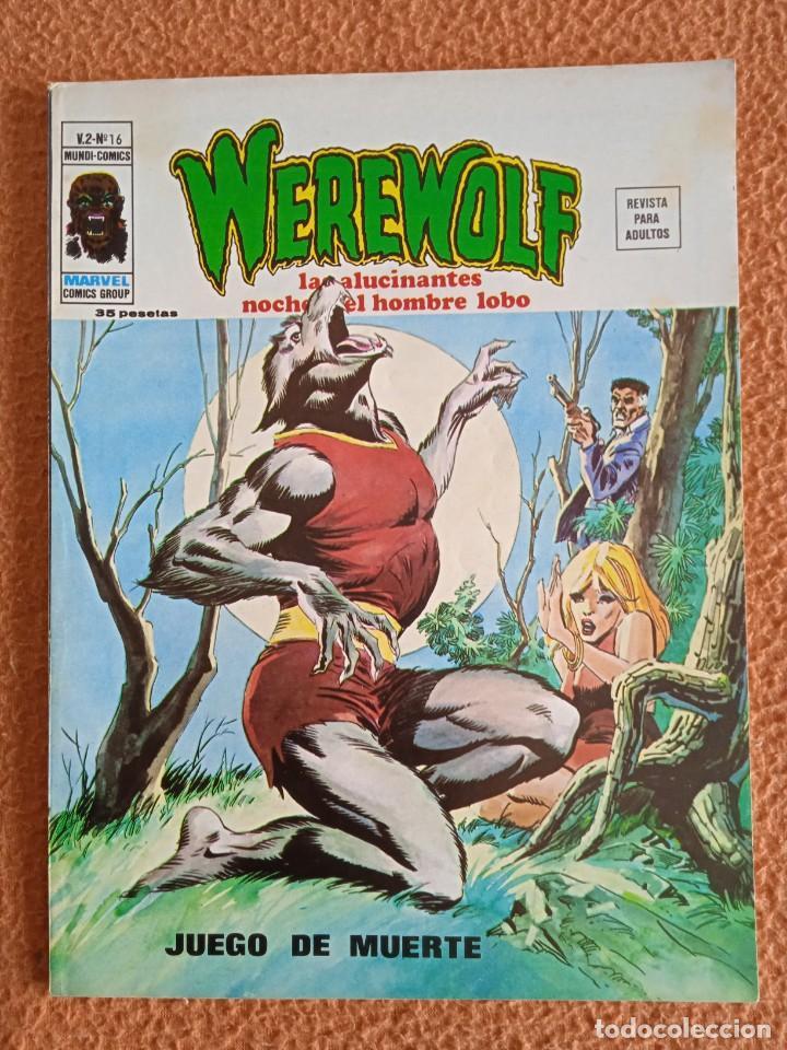 WEREWOLF 16 VERTICE VOL II HOMBRE LOBO (Tebeos y Comics - Vértice - V.2)