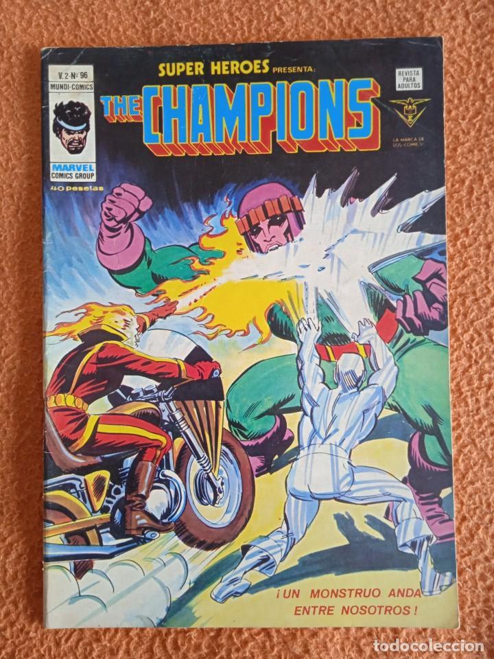 SUPER HEROES V2 NUMERO 96 PRESENTA THE CHAMPIONS (Tebeos y Comics - Vértice - V.2)