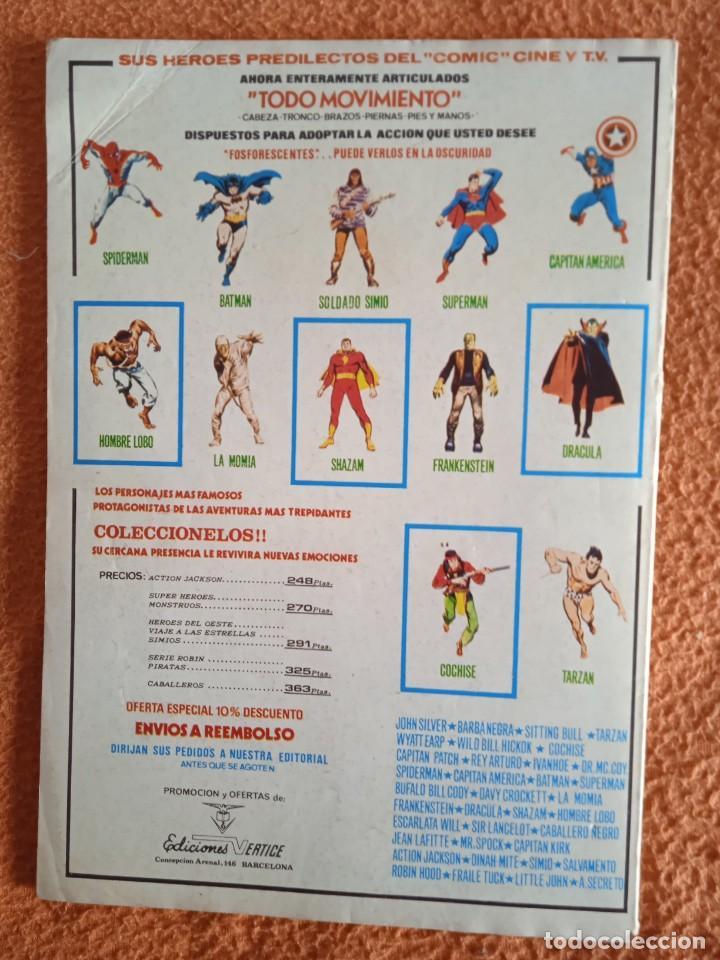 Cómics: VÉRTICE VOL. 1 RELATOS SALVAJES Nº 44 SATANA. 1977. 50 PTS. MUY DIFÍCIL!!!!!!! - Foto 5 - 251022570
