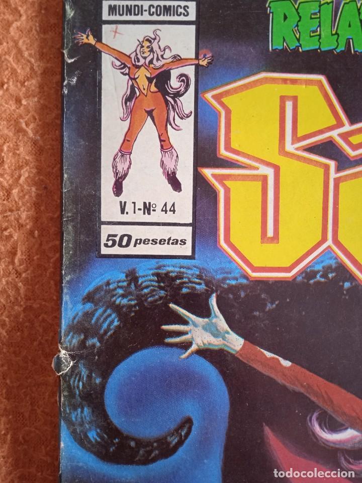 Cómics: VÉRTICE VOL. 1 RELATOS SALVAJES Nº 44 SATANA. 1977. 50 PTS. MUY DIFÍCIL!!!!!!! - Foto 6 - 251022570