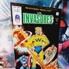 Cómics: BUEN ESTADO SELECCIONES MARVEL LOS INVASORES 44 COMICS VERTICE. Lote 251170575