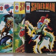 Cómics: 3 COMICS ORIGINALES - SPIDERMAN - MUNDI COMICS - VOL 2 Nº 48 - VOL 3 Nº 34 Y 38 - AÑOS 1970 ...L3722. Lote 251317915