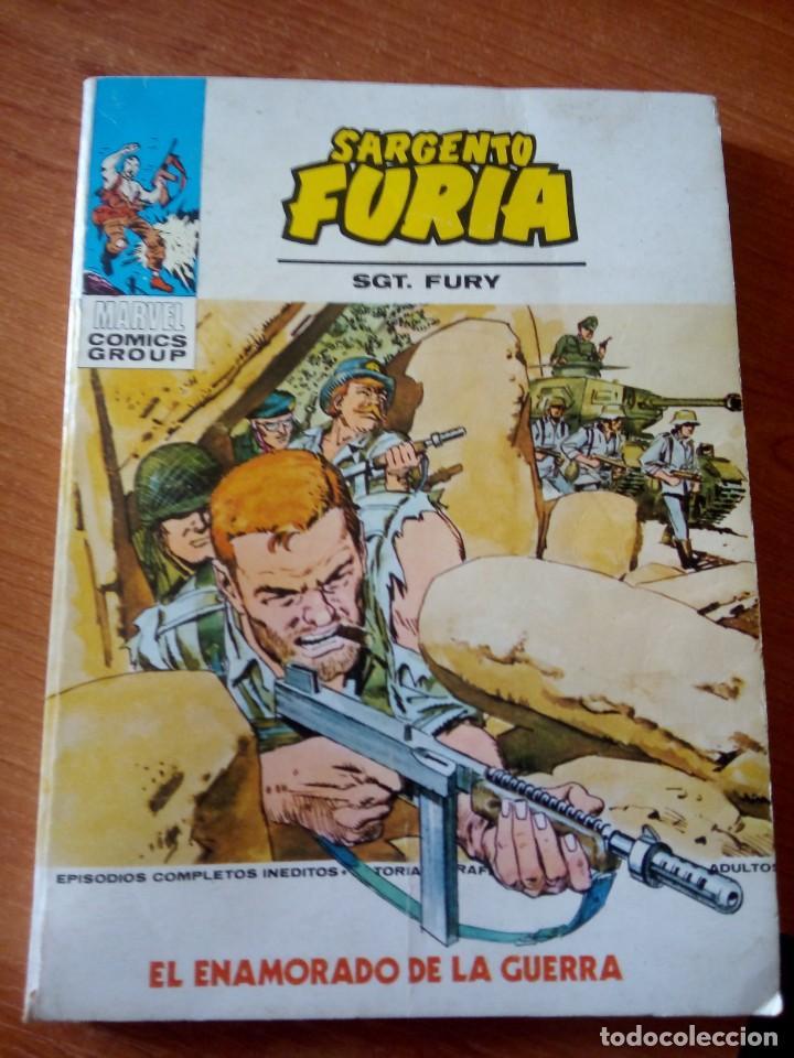 SARGENTO FURIA - Nº 23 - VERTICE VOL 1/ SARGENTO FURIA (Tebeos y Comics - Vértice - Furia)