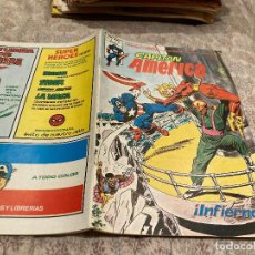 Cómics: CAPITAN AMERICA VOL3 -Nº42 INFIERNO - MUNDI COMICS ED.VERTICE 1980. Lote 251782945