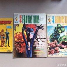 Cómics: LOS 4 FANTÁSTICOS VOLUMEN 1-2-3 COMPLETA. Lote 251856855