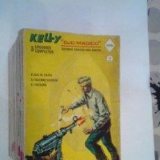 Cómics: KELLY OJO MAGICO - VERTICE - VOLUMEN 1 - COMPLETA - 18 NUMEROS - MUY BUEN ESTADO - GORBAUD. Lote 251952285