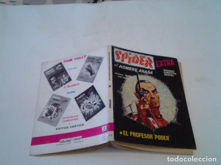Cómics: SPIDER EXTRA - EL HOMBRE ARAÑA - VERTICE - VOLUMEN 1 - NUMERO 17 - MUY BUEN ESTADO - GORBAUD -cj 134 - Foto 6 - 251953235