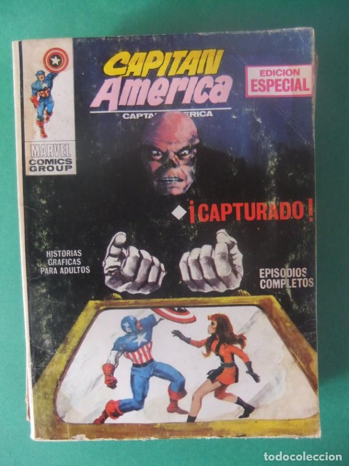 CAPITAN AMERICA Nº 2 VERTICE TACO (Tebeos y Comics - Vértice - Capitán América)