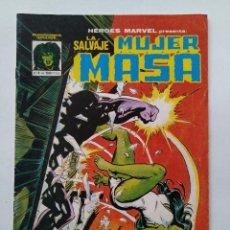 Cómics: COMIC ORIGINAL - LA SALVAJE MUJER MASA - Nº 4 - EDITORIAL VERTICE - AÑO 1981/82 ...L3751. Lote 251966555