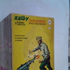 Cómics: KELLY OJO MAGICO - - VERTICE - VOLUMEN 1 - COMPLETA - 18 NUMEROS - BUEN ESTADO - GORBAUD. Lote 252126010