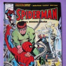 Cómics: SPIDERMAN Nº 63 E VERTICE VOLUMEN 3 ¡¡¡¡¡ MUY BUEN ESTADO !!!!!. Lote 252346835