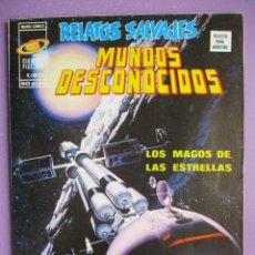 Cómics: RELATOS SALVAJES Nº 24 VERTICE ¡¡¡¡¡ EXCELENTE ESTADO !!!!! MUNDOS DESCONOCIDOS. Lote 252352215