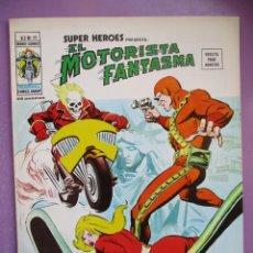 Cómics: SUPER HEROES Nº 28 VERTICE VOLUMEN 2 ¡¡¡¡¡ IMPECABLE ESTADO !!!! !EL MOTORISTA FANTASMA. Lote 252357490