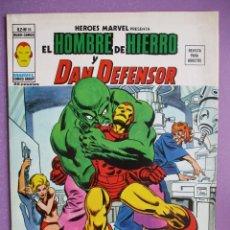 Cómics: HEROES MARVEL Nº 16 VERTICE VOLUMEN 2 ¡¡¡¡¡ MUY BUEN ESTADO !!!!! EL HOMBRE DE HIERO Y DAN DEFENSOR. Lote 252360010