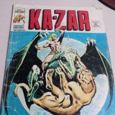 Cómics: CÓMIC KA-ZAR: DOS MUNDOS EN FRENESÍ (1976) V.2 Nº 7 EDICIONES VÉRTICE REF. GAR 333. Lote 252417645