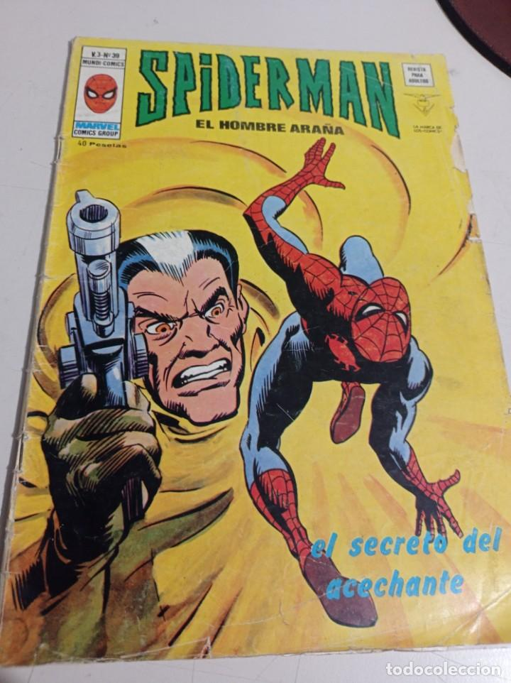 SPIDERMAN VOL 3 Nº 39 VERTICE EL SECRETO DEL ACECHANTE REF. GAR 333 (Tebeos y Comics - Vértice - Otros)