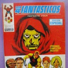 Cómics: LOS 4 FANTASTICOS Nº 20 VERTICE TACO ¡¡¡¡ MUY BUEN ESTADO !!!!!. Lote 252551725