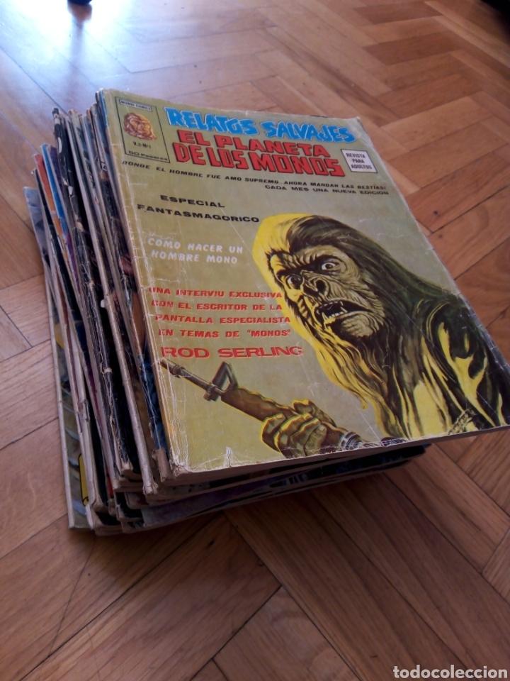 COLECCIÓN COMPLETA 29 EJEMPLARES EL PLANETA DE LOS MONOS VOL 2. VÉRTICE (Tebeos y Comics - Vértice - Relatos Salvajes)