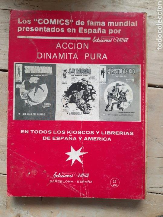 Cómics: Comic teneo La masa El acechante nocturno N°11 Ediciones vertice - Foto 2 - 252795110