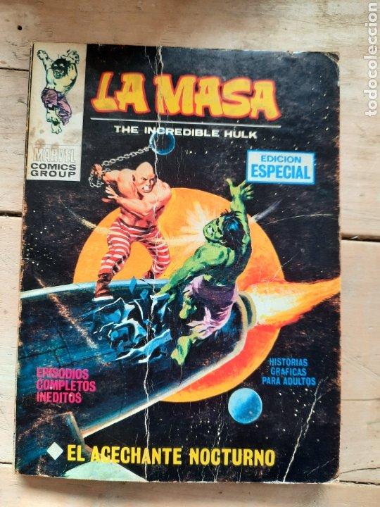 COMIC TENEO LA MASA EL ACECHANTE NOCTURNO N°11 EDICIONES VERTICE (Tebeos y Comics - Vértice - La Masa)