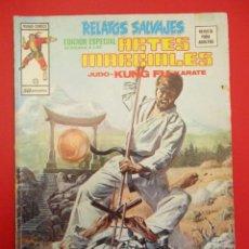 Cómics: RELATOS SALVAJES (1975, VERTICE) -ARTES MARCIALES- 25 · III-1977 · RELATOS SALVAJES. Lote 252844735