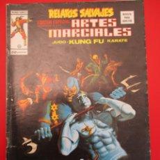 Cómics: RELATOS SALVAJES (1975, VERTICE) -ARTES MARCIALES- 34 · XII-1977 · RELATOS SALVAJES. Lote 252845455