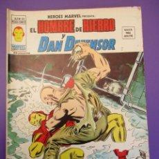 Cómics: HEROES MARVEL (1975, VERTICE) -V.2- 25 · XII-1976 · LA NOCHE DE LA BOMBA ANDANTE. Lote 252876775