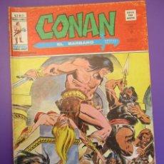 Cómics: CONAN (1974, VERTICE) -V 2- 20 · IV-1977 · LA CIUDAD DE LA TORMENTA. Lote 252876950