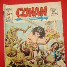 Cómics: CONAN (1974, VERTICE) -V 2- 8 · IV-1975 · DUENDES A LA LUZ DE LA LUNA. Lote 252877810