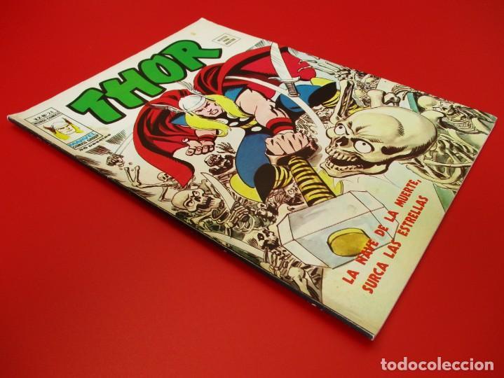 Cómics: THOR (1974, VERTICE) 24 · IX-1976 · LA NAVE DE LA MUERTE SURCA LAS ESTRELLAS - Foto 2 - 252881515