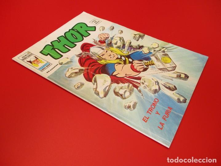 Cómics: THOR (1974, VERTICE) 28 · I-1977 · EL TRONO Y LA FURIA - Foto 2 - 252895870