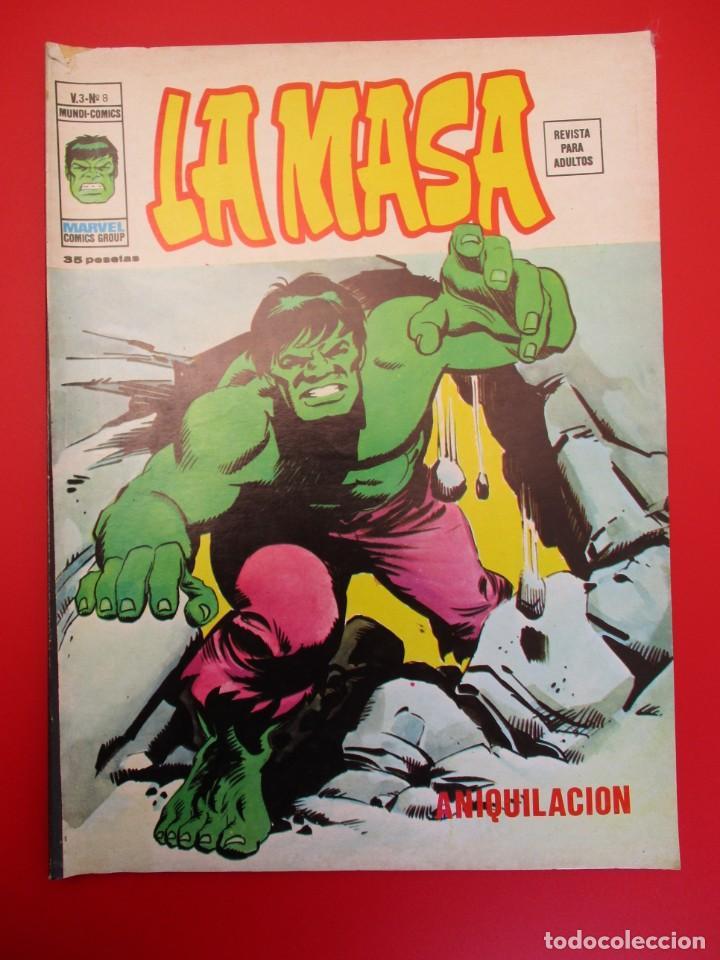 HULK (1975, VERTICE) -LA MASA- 8 · VII-1976 · ANIQUILACION (Tebeos y Comics - Vértice - La Masa)