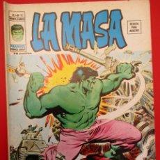 Cómics: HULK (1975, VERTICE) -LA MASA- 10 · IX-1976 · LOS PERVERSOS INHUMANOS. Lote 252989760