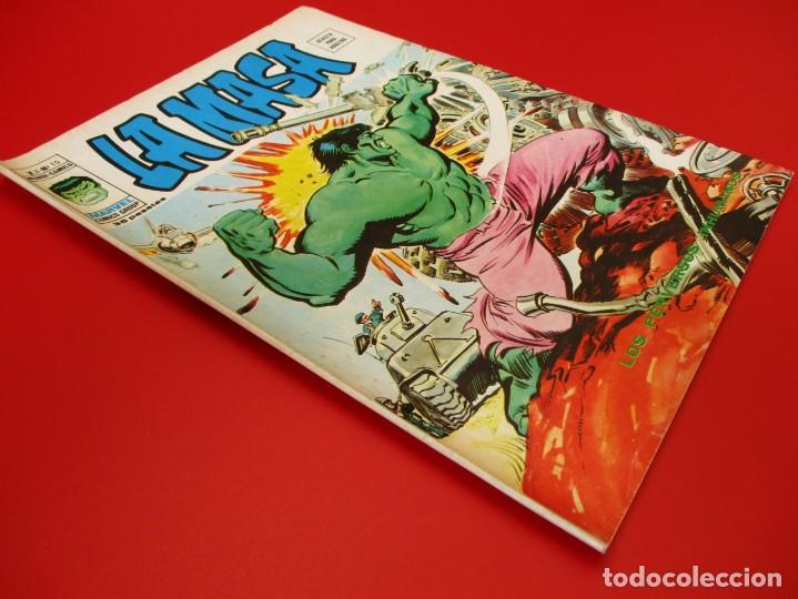 Cómics: HULK (1975, VERTICE) -LA MASA- 10 · IX-1976 · LOS PERVERSOS INHUMANOS - Foto 2 - 252989760