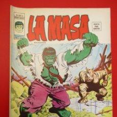 Cómics: HULK (1975, VERTICE) -LA MASA- 12 · XI-1976 · ¡EL RINO DICE NO!. Lote 252990620