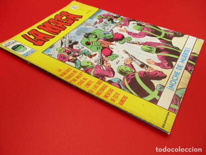 Cómics: HULK (1975, VERTICE) -LA MASA- 16 · III-1977 · NOCHE DE MUERTE - Foto 2 - 252991765