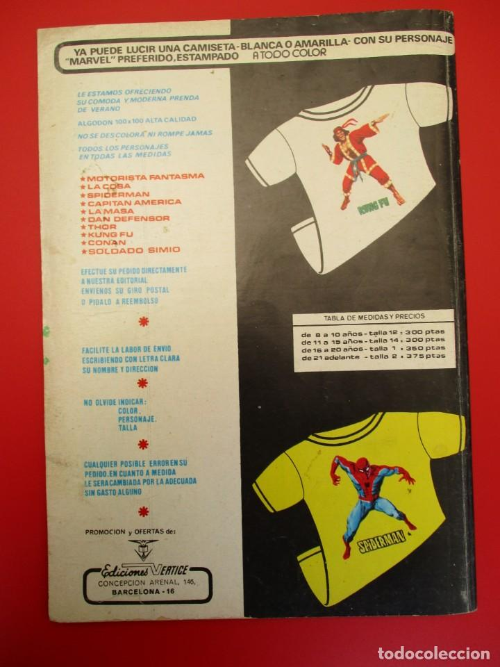 Cómics: HULK (1975, VERTICE) -LA MASA- 16 · III-1977 · NOCHE DE MUERTE - Foto 3 - 252991765