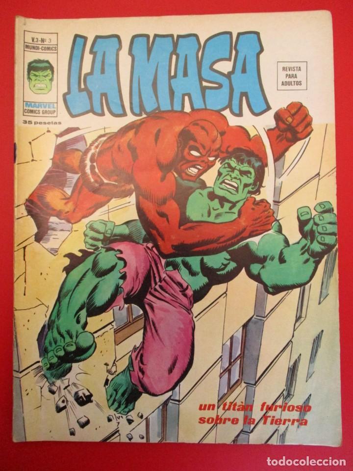 HULK (1975, VERTICE) -LA MASA- 3 · II-1976 · UN TITAN FURIOSO SOBRE LA TIERRA (Tebeos y Comics - Vértice - La Masa)